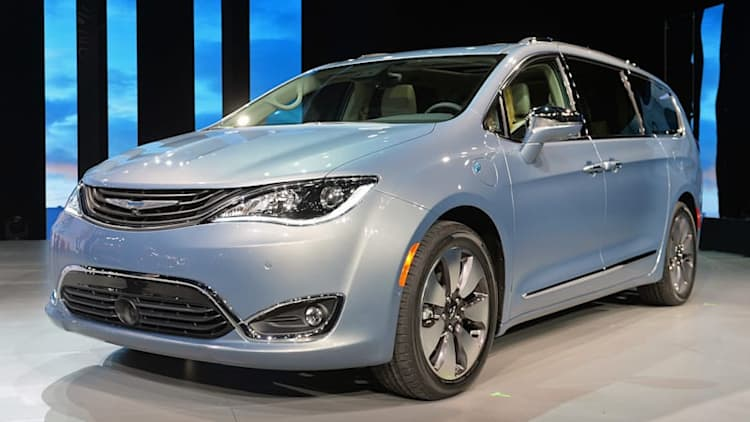 2017 Chrysler Pacifica Hybrid starts at $43,090, or just over $35,000 with a tax credit