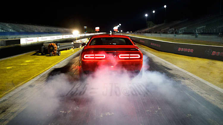 The Dodge Demon gets a Drag Mode and a lesson in Newtonian physics