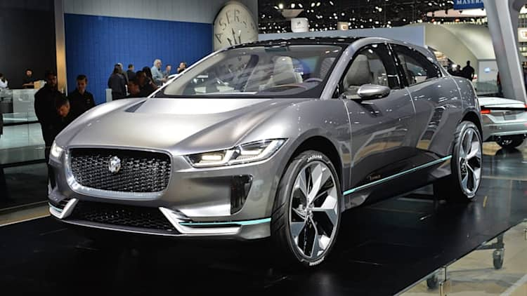 Jaguar Land Rover says half its models will be hybrids or all-electric by 2020