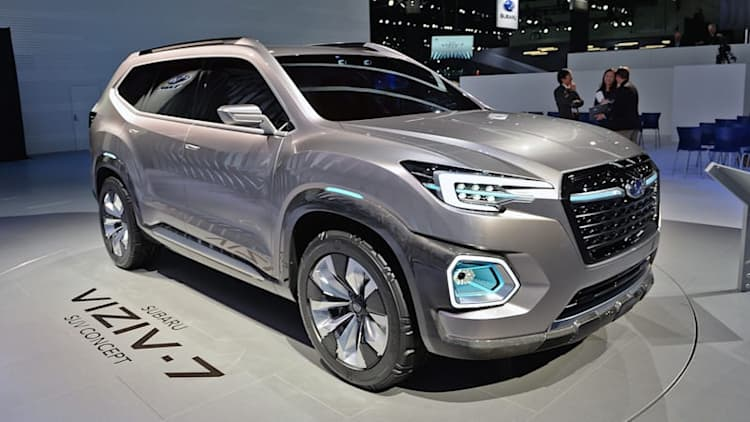 Subaru Viziv-7 Concept is AWD done XXL