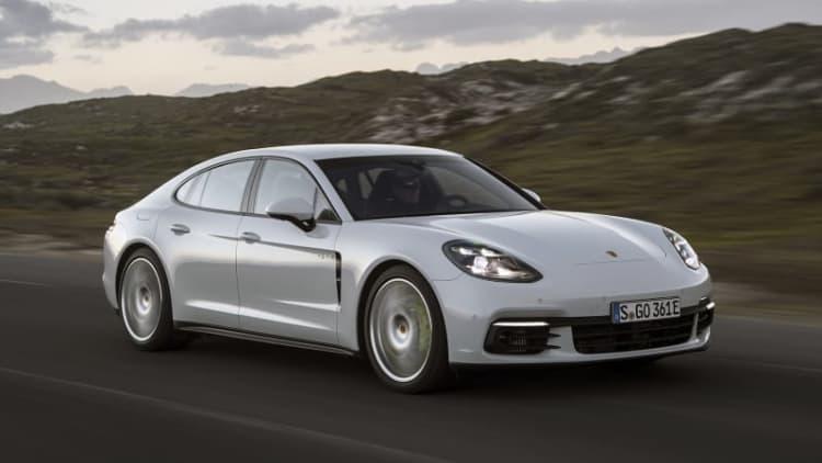 A different shade of green   2018 Porsche Panamera 4 E-Hybrid First Drive
