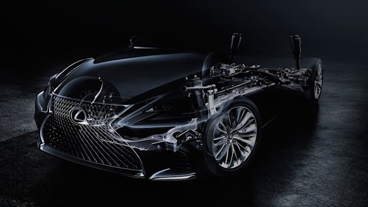 We'll see the next Lexus LS debut in Detroit this January