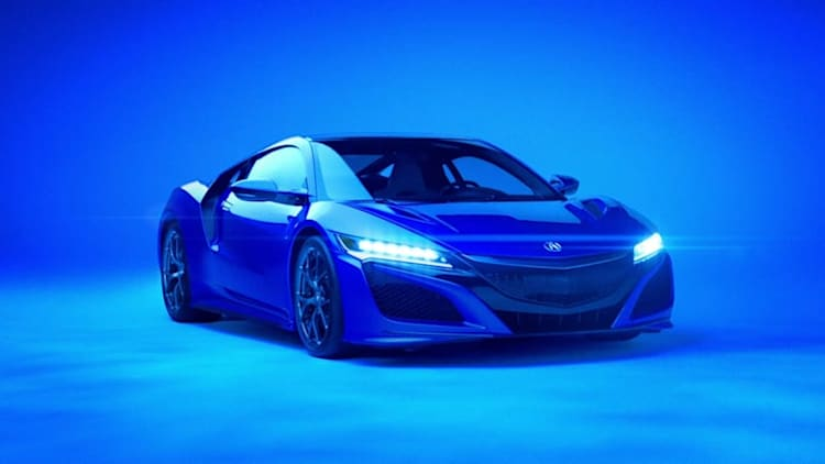 Acura NSX and David Lee Roth wail together in Super Bowl spot