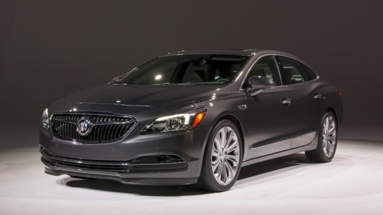 2017 Buick LaCrosse priced at $32,990