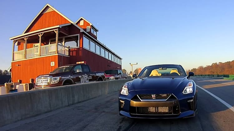 Buy a 2017 Nissan GT-R and score track time at VIR