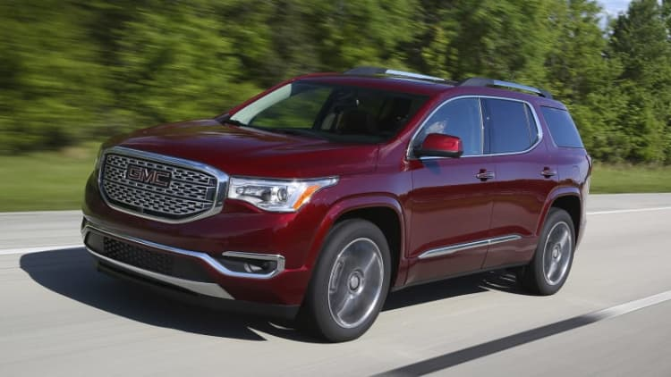 2017 GMC Acadia First Drive