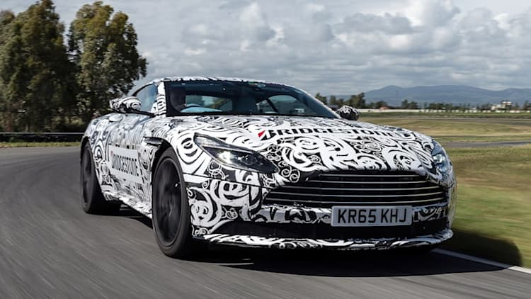 2017 Aston Martin DB11 Prototype First Drive