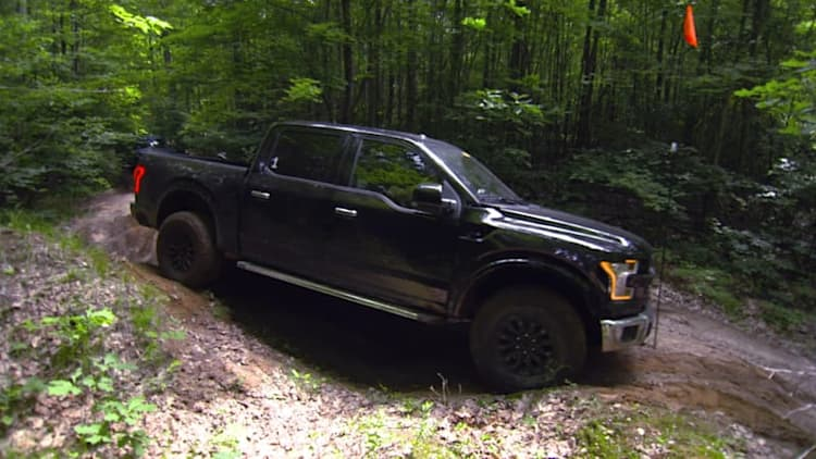 Ford gets dirty testing the 2017 Raptor