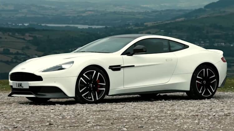No surprise, Brits still love the Aston Martin Vanquish