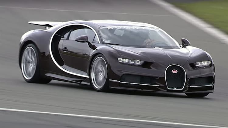 Watch the first Bugatti Chiron media ride-along