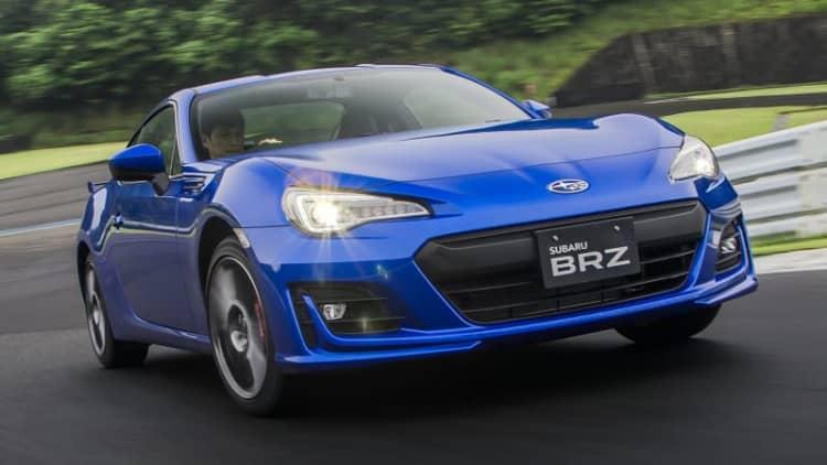 2017 Subaru BRZ First Drive