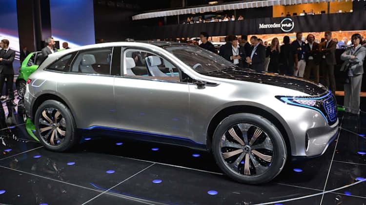 Daimler wants to cut EV research spending as it preps EQ