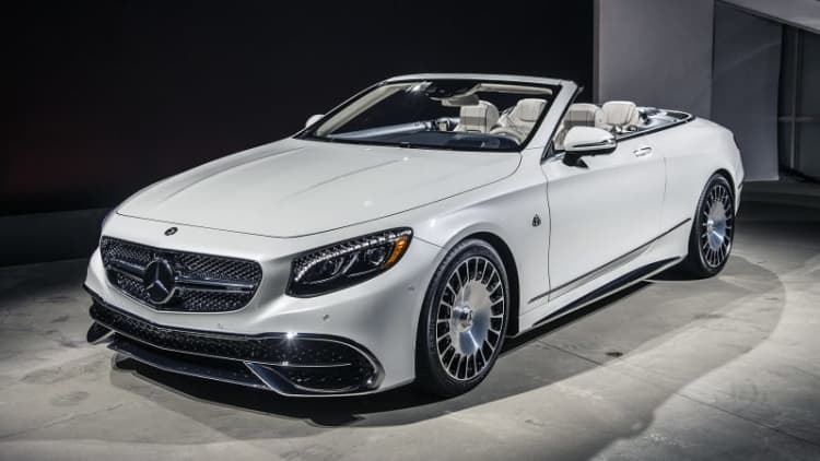 2017 Mercedes-Maybach S650 Cabriolet includes guaranteed exclusivity