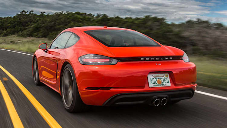 Add number, subtract cylinders | 2017 Porsche 718 Cayman Quick Spin