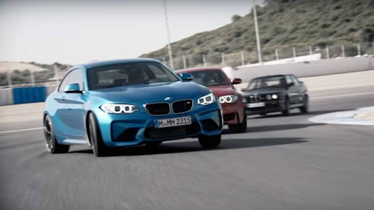 BMW M2 claims 7:58 'Ring time in video