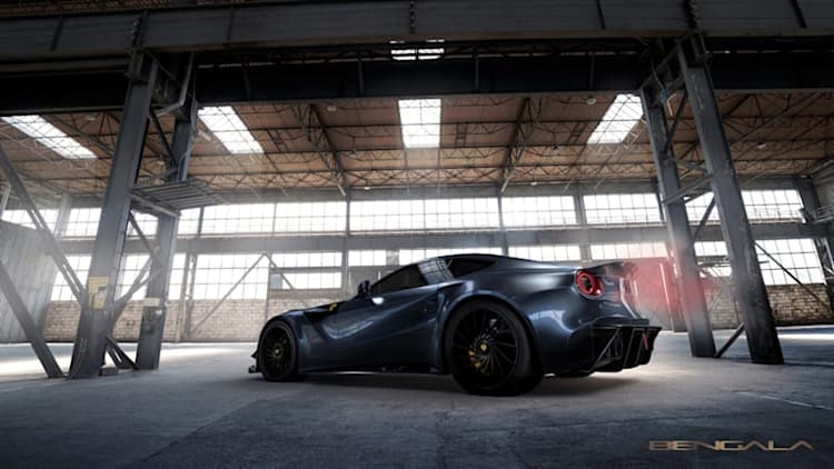 If you need a carbon-fiber-bodied Ferrari F12, meet the Caballeria