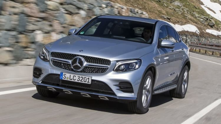 2017 Mercedes-Benz GLC300 4Matic Coupe First Drive