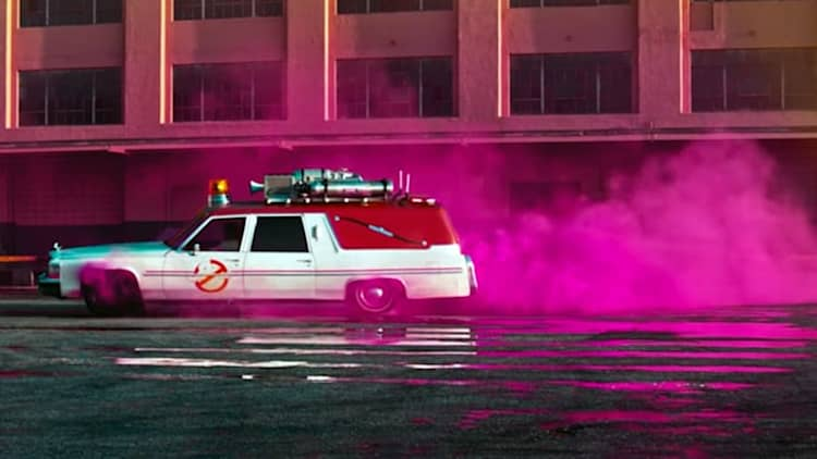 Lyft and Ghostbusters want to take you for a ride in Ecto 1