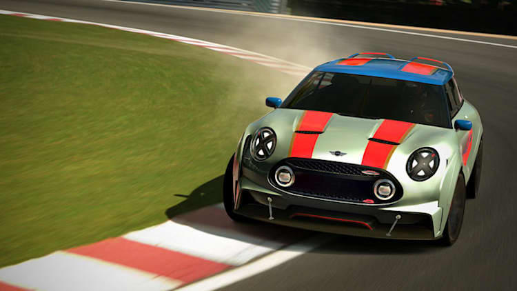 Mini stretches its legs with new Clubman Vision Gran Turismo concept [w/video]