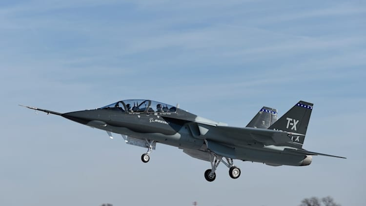 Boeing, Saab take first flight in T-X trainer 36 months after starting development