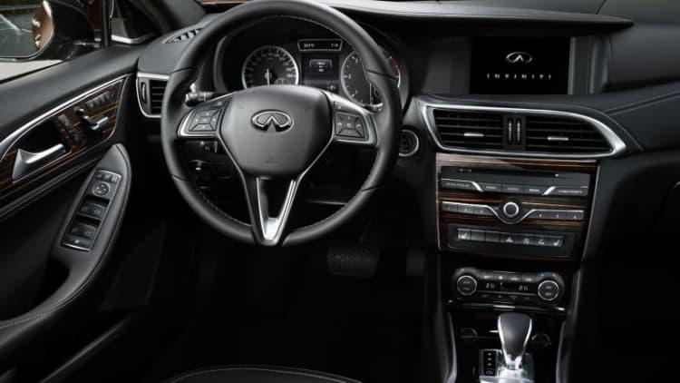 Infiniti shows Q30 interior ahead of Frankfurt debut