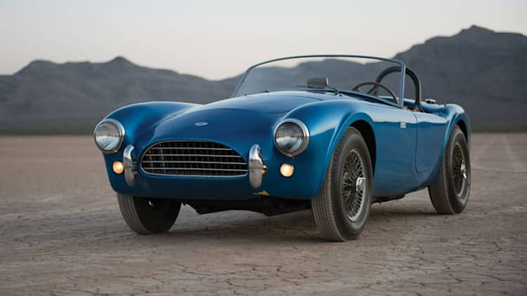First ever Shelby Cobra going up for auction