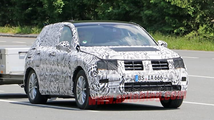 Volkswagen Tiguan tunes up for Frankfurt show