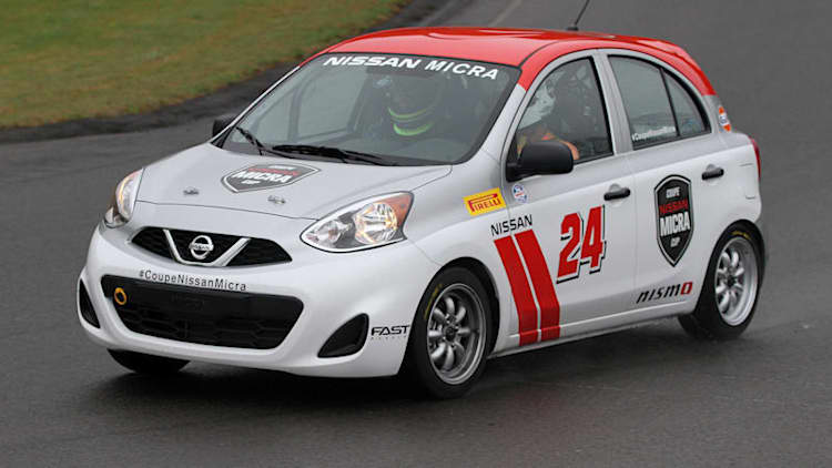 2015 Nissan Micra Cup First Drive [w/video]