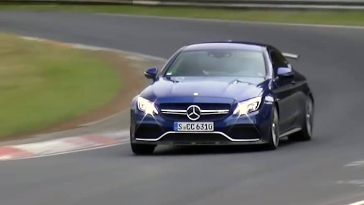Mercedes-AMG C63 R coupe wings it on the 'Ring