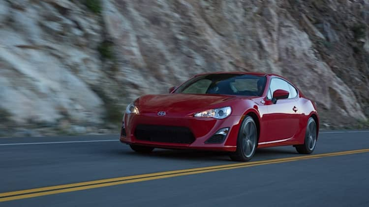 Scion FR-S recalled for key interlock problem