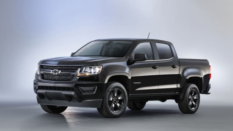 Chevy Colorado gets Midnight, Trail Boss editions