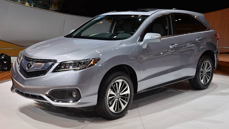 2016 Acura RDX arrives with freshened styling, powertrain enhancements