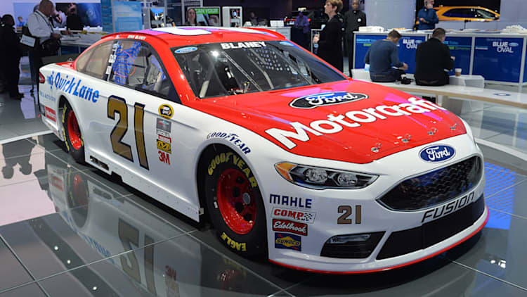 Ford Fusion puts on its game face for NASCAR
