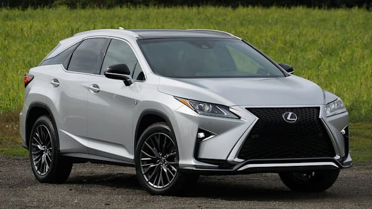 Lexus recalls 2016 RX over knee airbag assembly