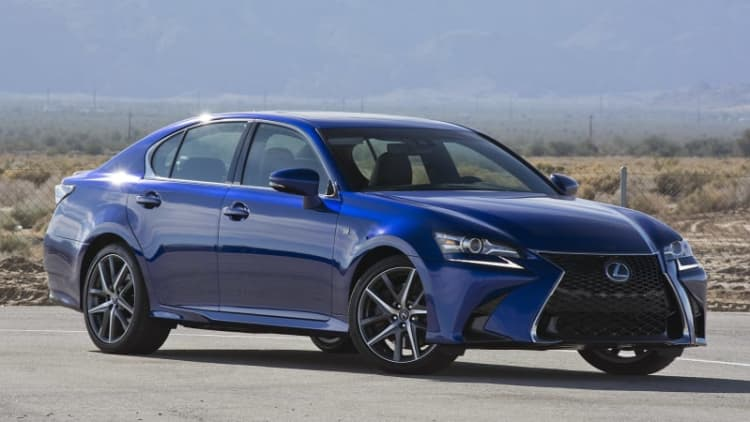 2016 Lexus GS 200t First Drive