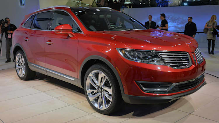2016 Lincoln MKX packs plenty of power, MKC-inspired looks