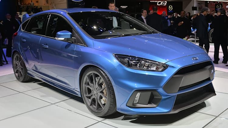 2016 Ford Focus RS shows up in Geneva, still bound for America [w/video]