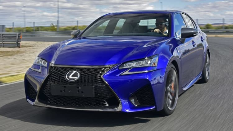 2016 Lexus GS F First Drive [w/video]
