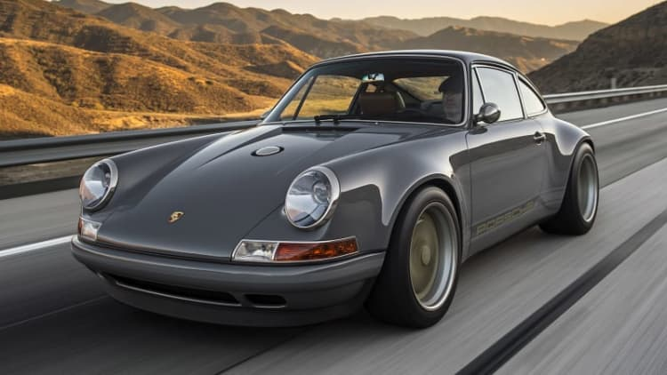 Porsche 911 Reimagined by Singer First Drive [w/video]