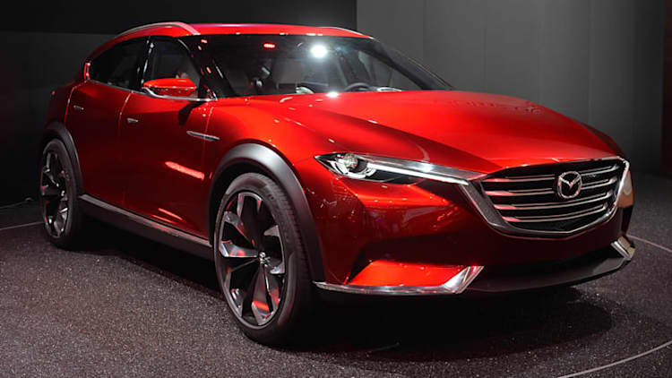 Mazda Koeru concept forecasts next CX-9 in sleek form