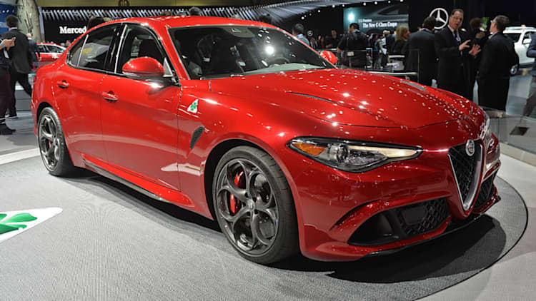 Alfa Romeo Giulia is the sexiest starlet in LA