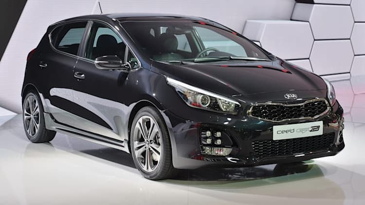 2016 Kia Cee'd GT Line brings new 1.0-liter engine to Geneva