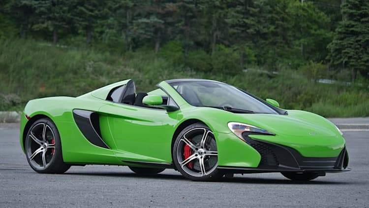 2016 McLaren 650S Spider Review [w/video]