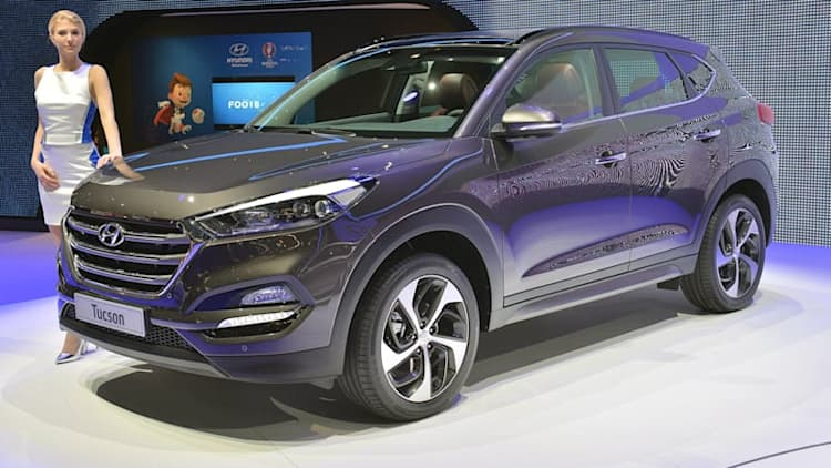 2016 Hyundai Tucson comes to Geneva with long-awaited redesign