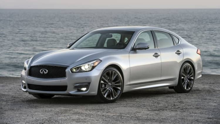 Infiniti introduces Q70 Premium Select Edition to Monterey crowds
