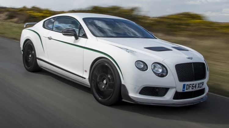 2015 Bentley Continental GT3-R First Drive [w/video]
