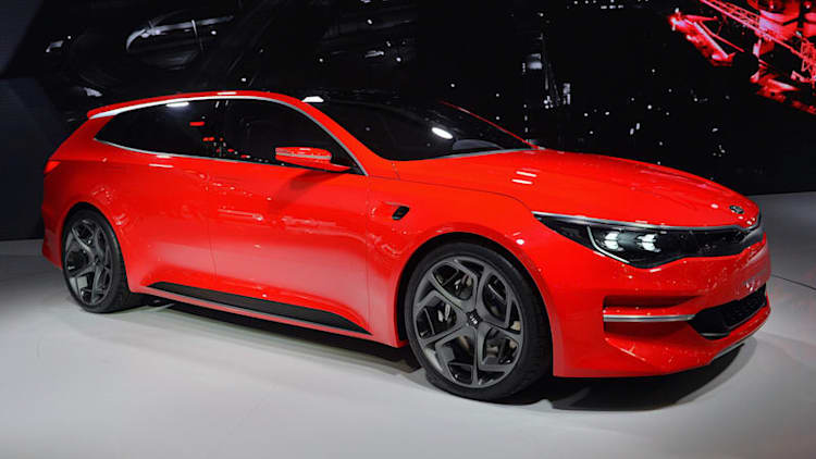 Kia Sportspace Concept is a big, red wagon that previews the future