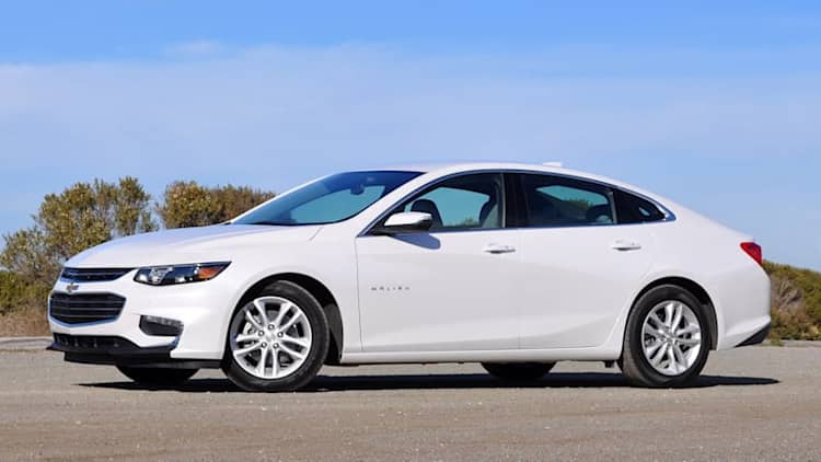 2016 Chevrolet Malibu Hybrid Quick Spin [w/video]