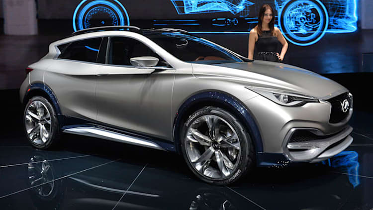 Infiniti QX30 Concept is... a mountain lion that stings?