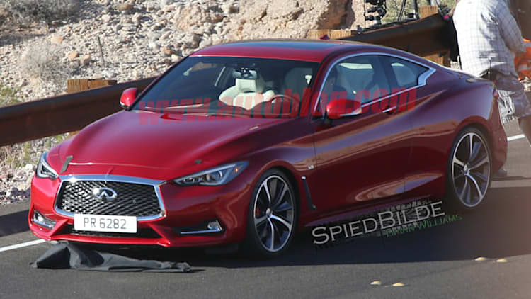 This is the 2017 Infiniti Q60 Coupe totally exposed